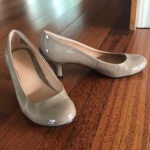 Mootsies Tootsies Nude Patent Leather Heels - 7.5
